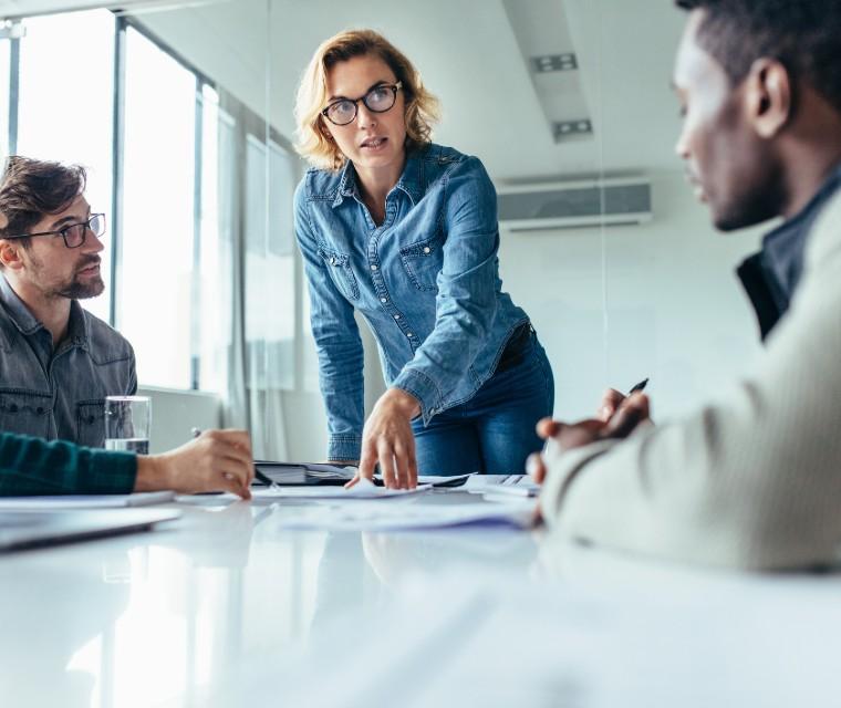 liderança e produtividade